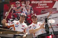 MotoGP Foto - Dani Pedrosa, Repsol Honda Team e Marc Marquez, Repsol Honda Team