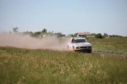 #3 Team Qatar Porsche Cayenne S Transsyberia: Adel Abdulla and Norbert Lutteri