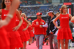 Felipe Massa, Scuderia Ferrari and Nico Rosberg, WilliamsF1 Team