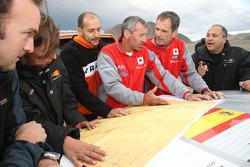 Pau Soler, Laia Peinado, Pedro Gameiro, Francois Borsotto, Christian Lavieille and Pedro Figueiredo