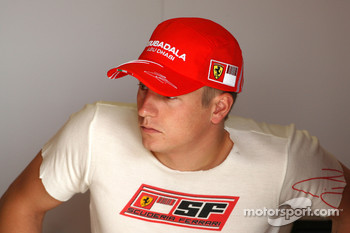 Kimi Raikkonen, Scuderia Ferrari, F2008