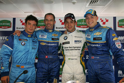Sergio Hernandez, Proteam Motorsport, BMW 320si, Alain Menu, Chevrolet, Chevrole Lacetti, Augusto Farfus, BMW Team Germany, BMW 320si and Robert Huff, Chevrolet, Chevrole Lacetti