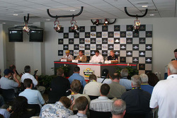 NASCAR Goodyear press conference