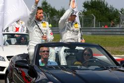 Bernd Schneider, Team HWA AMG Mercedes, Maro Engel, Mücke Motorsport AMG Mercedes, AMG Mercedes C-Klasse