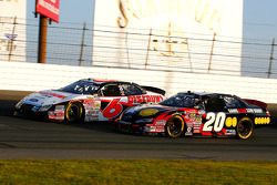 Joey Lagano battles with David Ragan