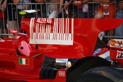 Ferrari Engine cover