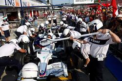 BMW Sauber F1 Team, Pitstop practice