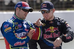 Casey Mears and Brian Vickers