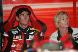 Troy Corser with wife Sam
