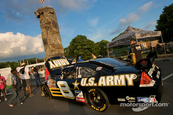 Watkins Glen fan fest: U.S. Army display