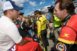 Marcos Ambrose and Mike Bliss