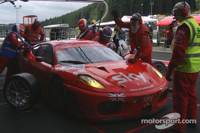 #55 CR Scuderia Ferrari F430: Chris Niarchos, Tim Mullen, Andrea Piccin, Gordon Shedden