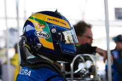 David Brabham gets ready for qualifying