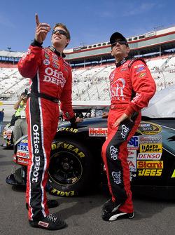 Carl Edwards and Greg Biffle
