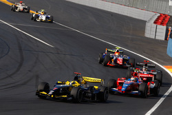 Andy Soucek leads Bruno Senna, Jerome D'Ambrosio and Giorgio Pantano