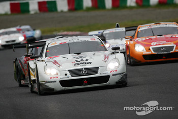 #35 Houzan Kraft SC430: Peter Dumbreck, Tatsuya kataoka