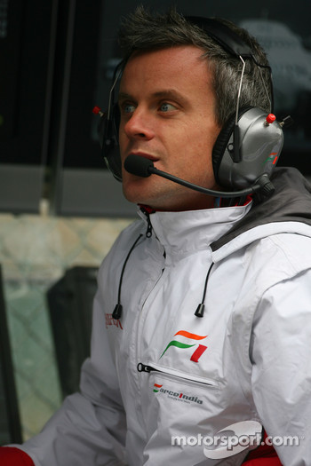 Dominic Harlow, Force India F1 Team, Race Engineer