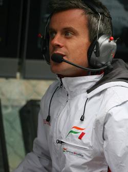 Dominic Harlow, Force India F1 Team, Race Engineer