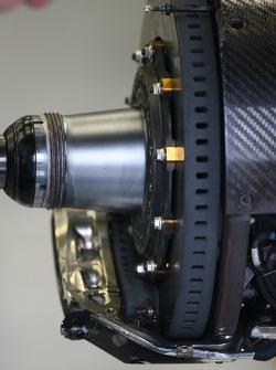 McLaren Brake disc system