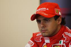 Post-race press conference: second place Felipe Massa