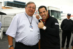 Father Phil celebrates 40 years of ministry with Helio Castroneves
