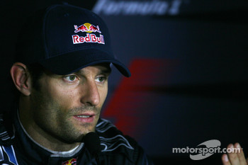 Press conference: third place Mark Webber