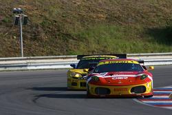 #78 BMS Scuderia Italia Ferrari F430: Joel Camathias, Davide Rigon