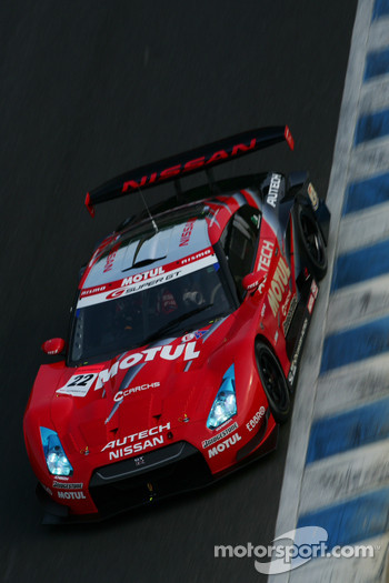 #22 Motul Autech GT-R: Michael Krumm, Masataka Yanagida