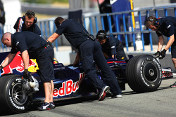 Sebastien Buemi, Test Driver, Red Bull Racing, RB4