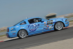#112 Larry Miller Racing Ford Mustang GT: James Burke, Dan McKeever