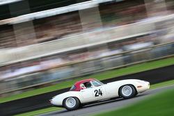 Tourist Trophy race: Brundle/Newey – 1963 jaguar E-type lightweight