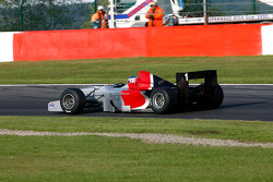 Pace lap: Klaas Zwart (NL) Ascari, F1 Benetton B197 Judd 4.0 V10