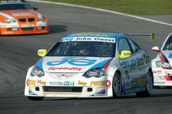 Andrew Jordan leads Rob Collard and Colin Turkington