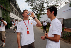 David Coulthard and Mark Webber