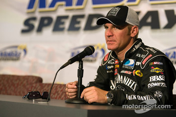 Clint Bowyer makes an interview