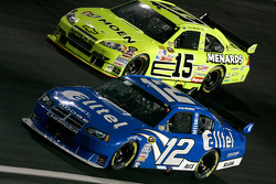 Ryan Newman and Paul Menard