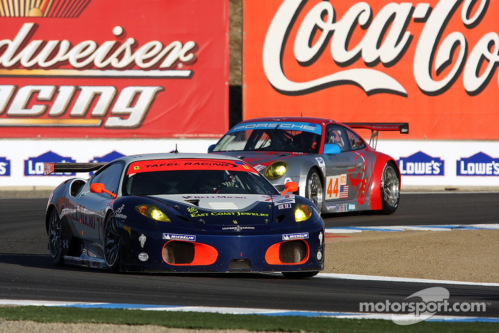 #71 Tafel Racing Ferrari F430 GT: Dirk Muller, Dominik Farnbacher