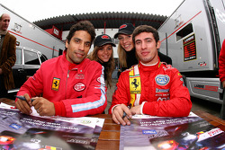 Autograph session: Jose Maria Lopez and Martin Basso