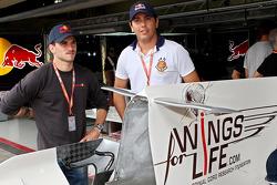 Stock Car drivers Daniel Serra and Carlos Bueno