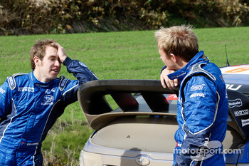 Chris Atkinson and Petter Solberg