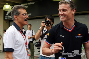Mario Theissen and David Coulthard