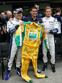 Kazuki Nakajima, Williams F1 Team, Nico Rosberg, Williams F1 Team
