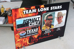 Bobby Labonte is teamed with Tim Love as