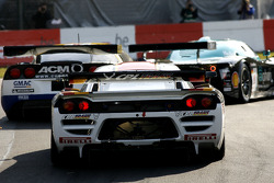#4 PekaRacing nv Saleen S7: Anthony Kumpen, Bert Longin