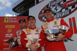 Saturday race: race winner Giuseppe Cirò on the podium
