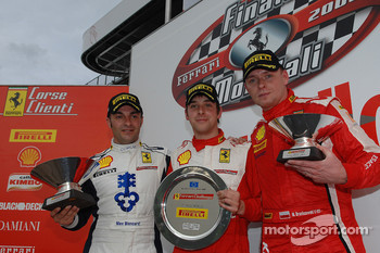 Friday race: Trofeo Pirelli podium
