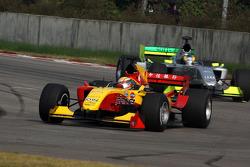 Ho Pin Tung, driver of A1 Team China, Felipe Guimaraes, driver of A1 Team Brazil
