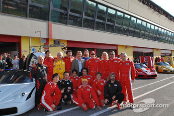 Sunday: FXX drivers with Luca di Montezemolo