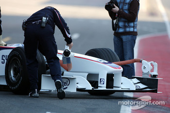 Robert Kubica,  BMW Sauber F1 Team, Nose, interim 2009 car