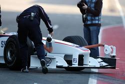 Robert Kubica,  BMW Sauber F1 Team, Nose, interim 2009 car